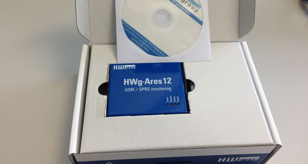 HWg-Ares12, GSM Thermometer mit E-Mail und SMS Alarmierung
